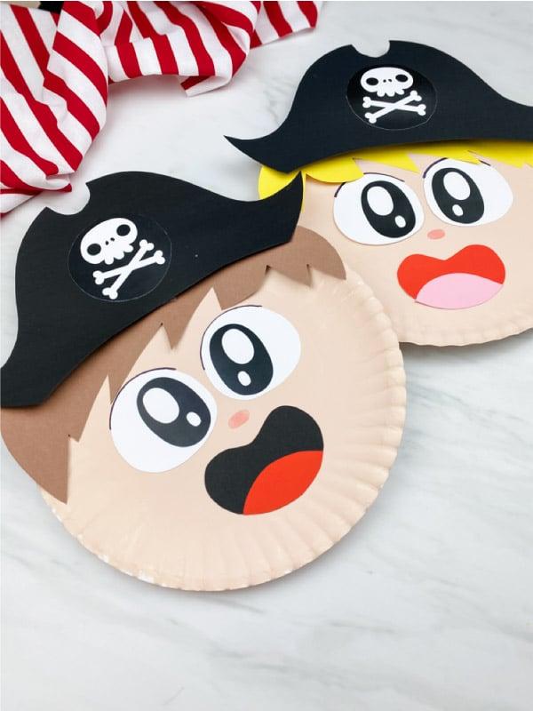 Pappteller Piraten