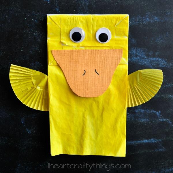 Paper Bag Ducks