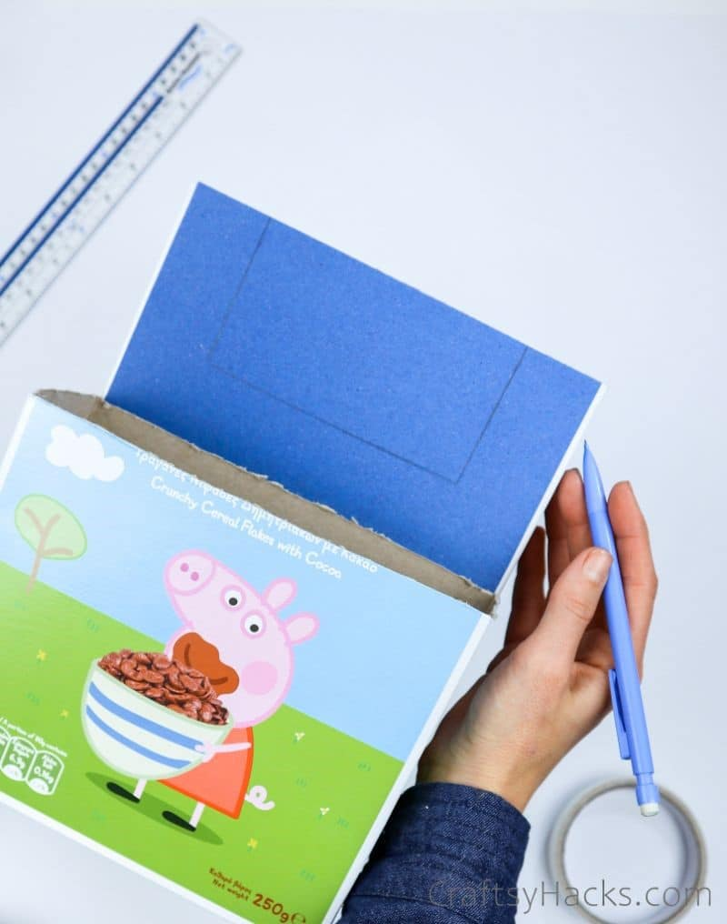 drawing rectangle on box