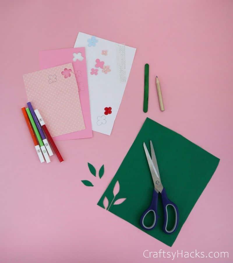 flower craft supplies