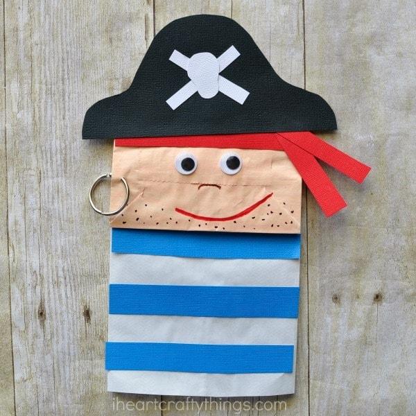 Papiertüte Piraten