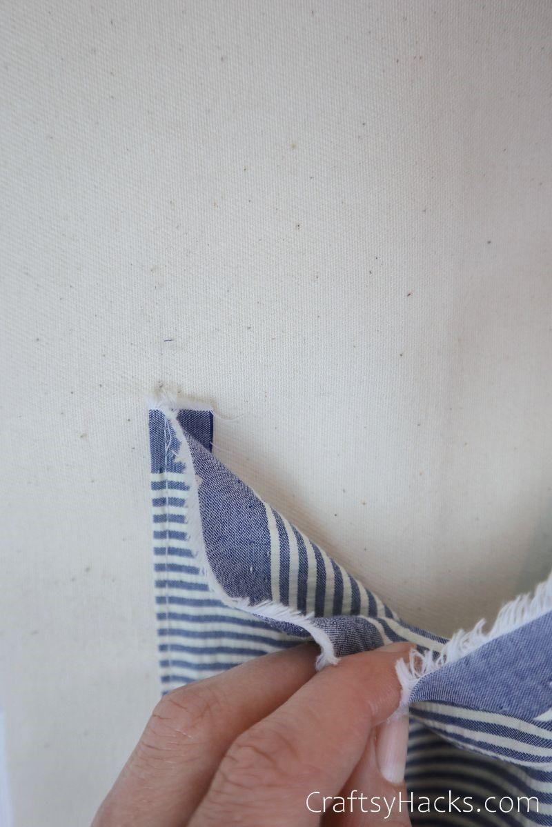 opening fabric pocket