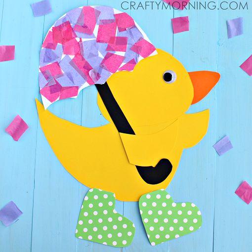 Rainy Day Paper Ducks