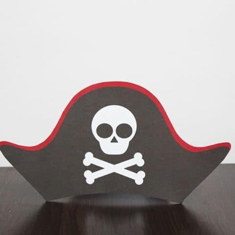 Piratenpapierhut