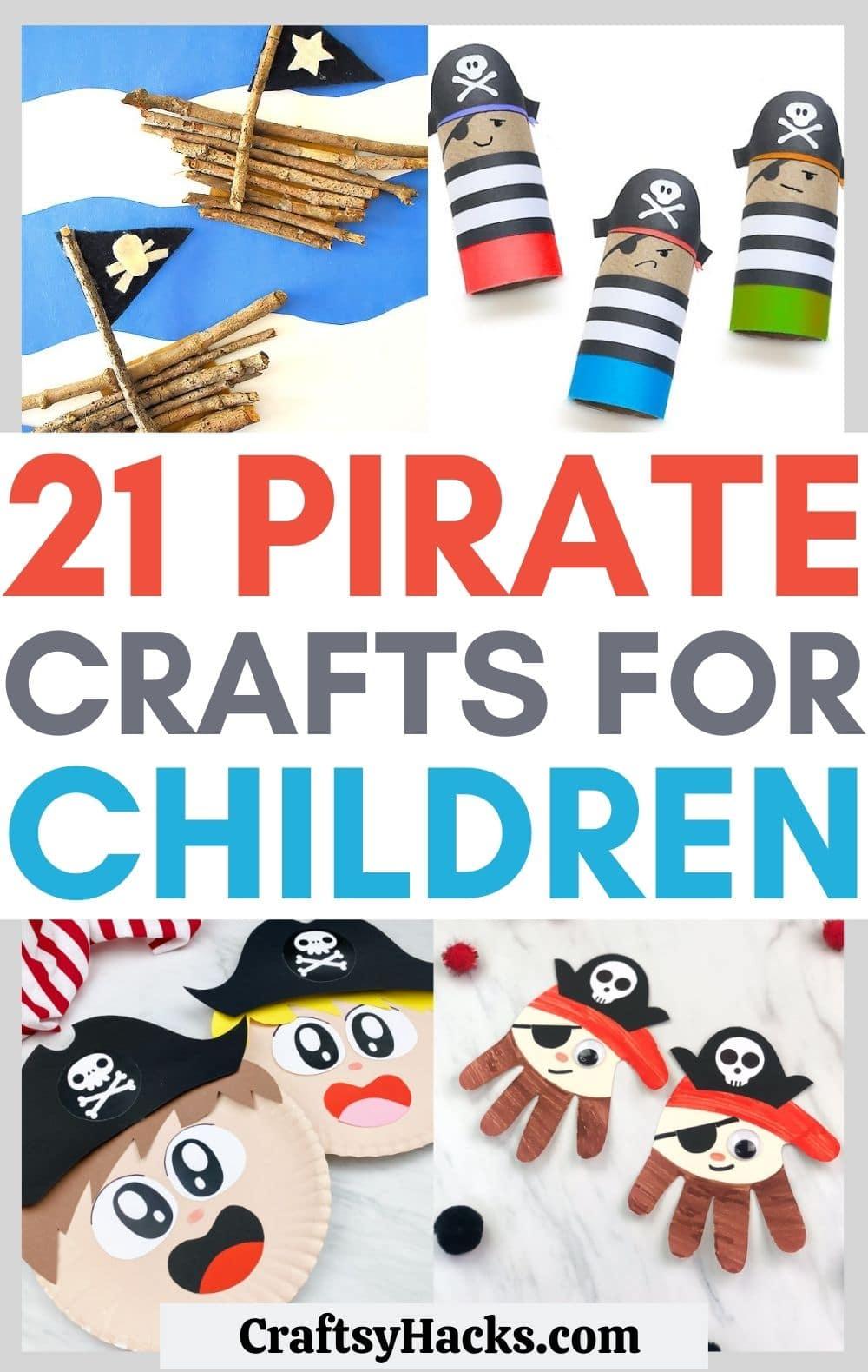 Ideen für Piratenhandwerk