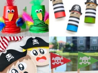 kids pirate crafts