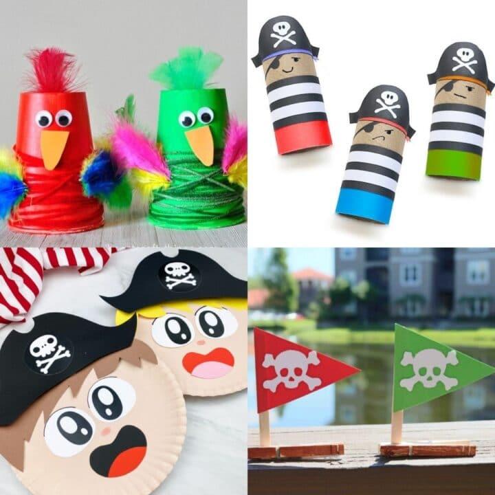 kids pirate crafts