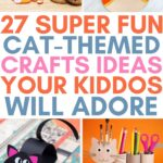 cat-themed crafts