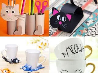 kids cat crafts