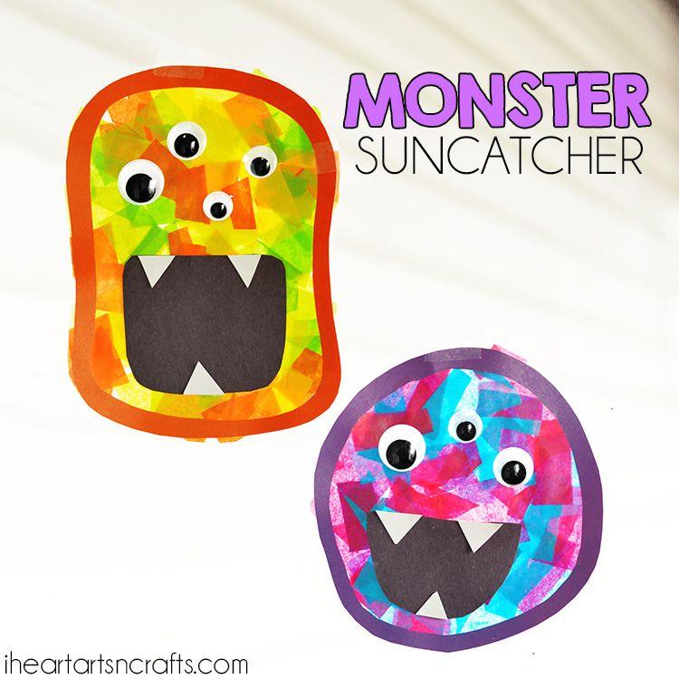 Monster Suncatchers