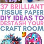 tissue paper diy's