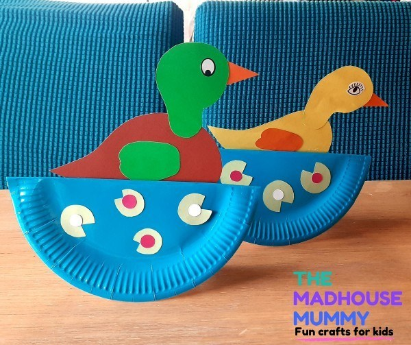 Duck Pond Paper Plate Rockers