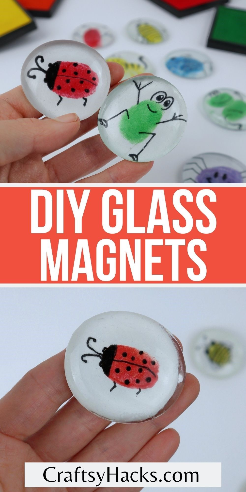 diy glass magnets pin