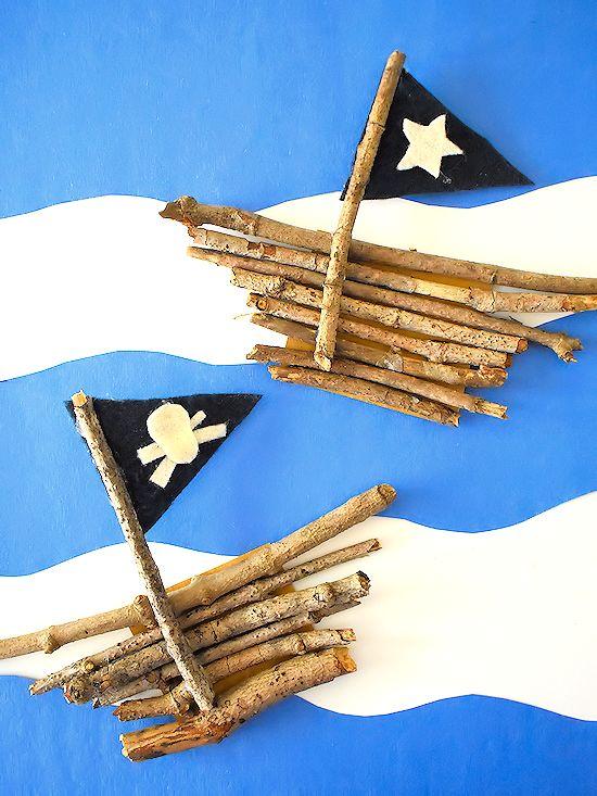 Nature Stick Piratenschiffe