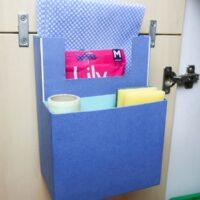 DIY cabinet organizer