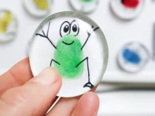 diy glass magnet