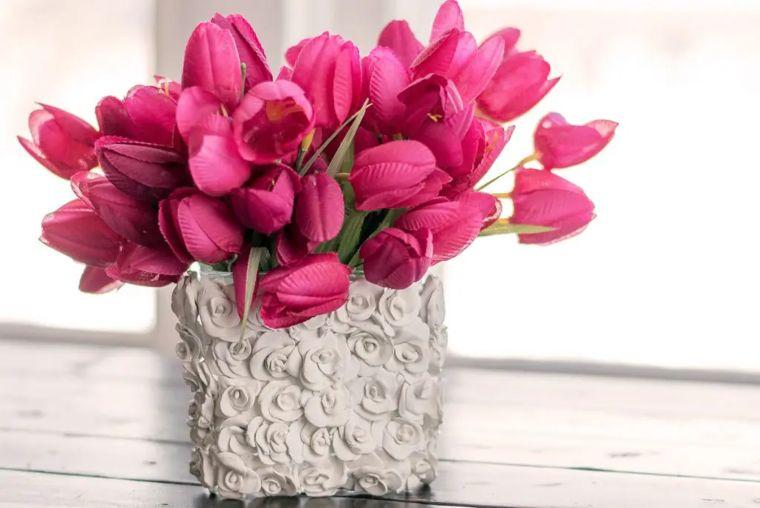 DIY Polymer Clay Vases