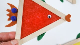 fish craft with popsicle sticks