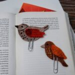 diy bird bookmark