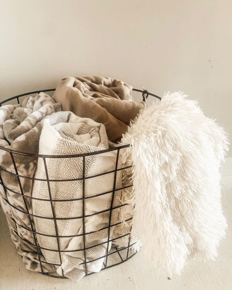 Cozy Blanket Basket
