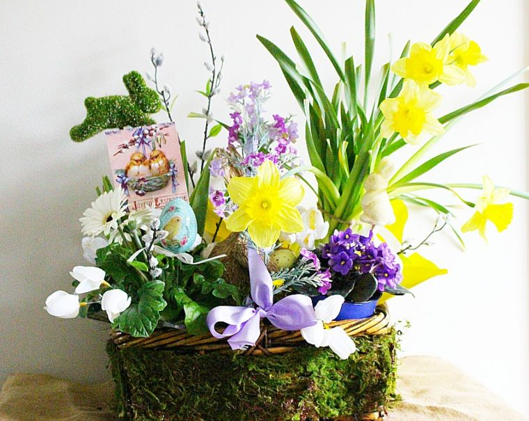 Martha Stewart-Inspired Easter Basket