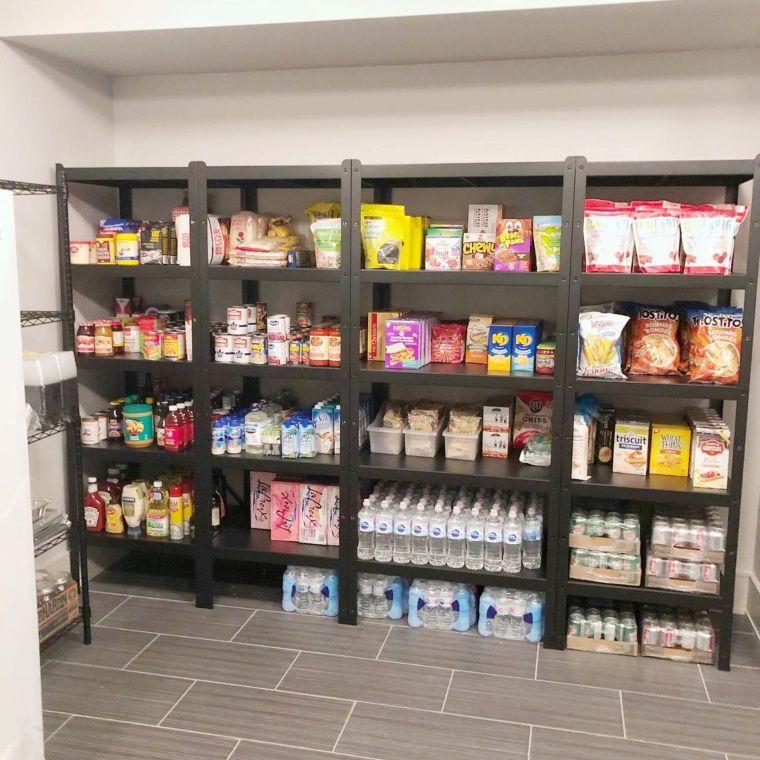 Wall-to-Wall Basement Storage