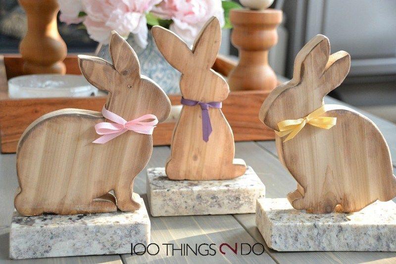 Wooden Bunnies