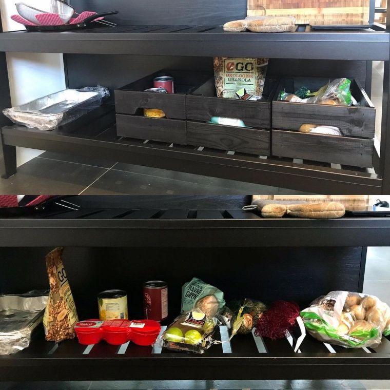 organized under counter