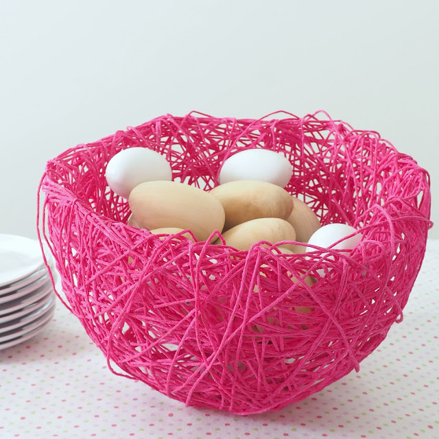 String Nest Serving Bowl