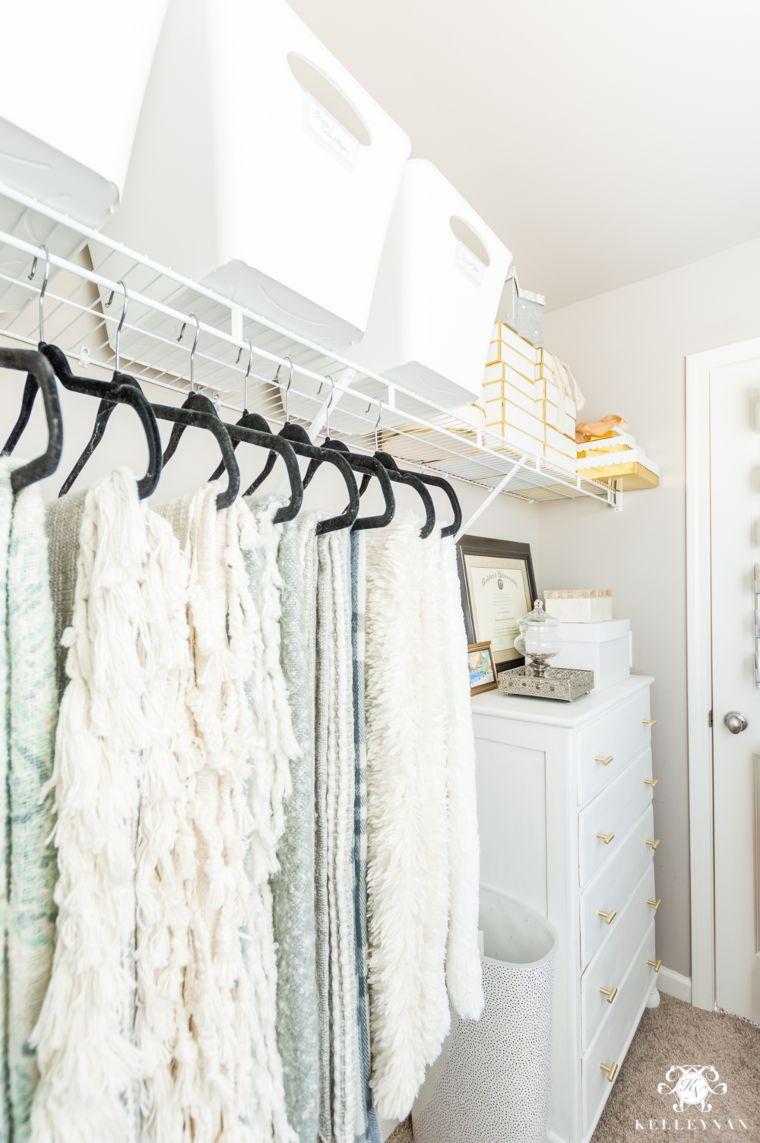 Velvet Hanger Throw Closet