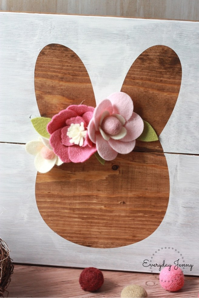 DIY Negative Space Wooden Sign