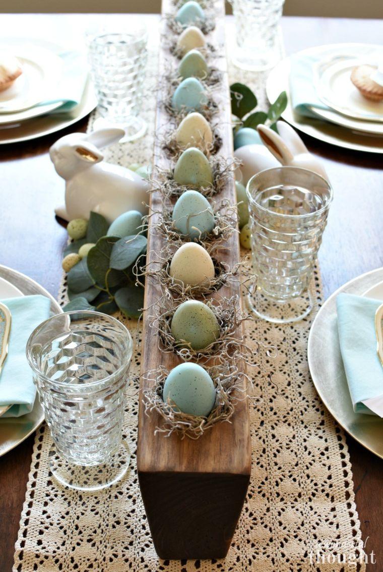 Easter Table Landscape