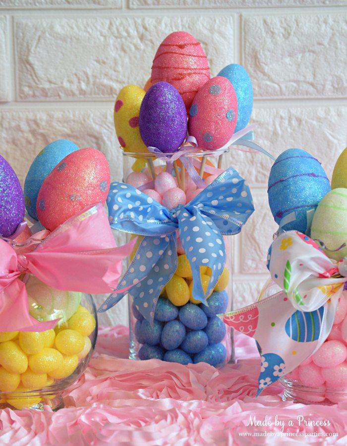Dollar Store Easter Eggs