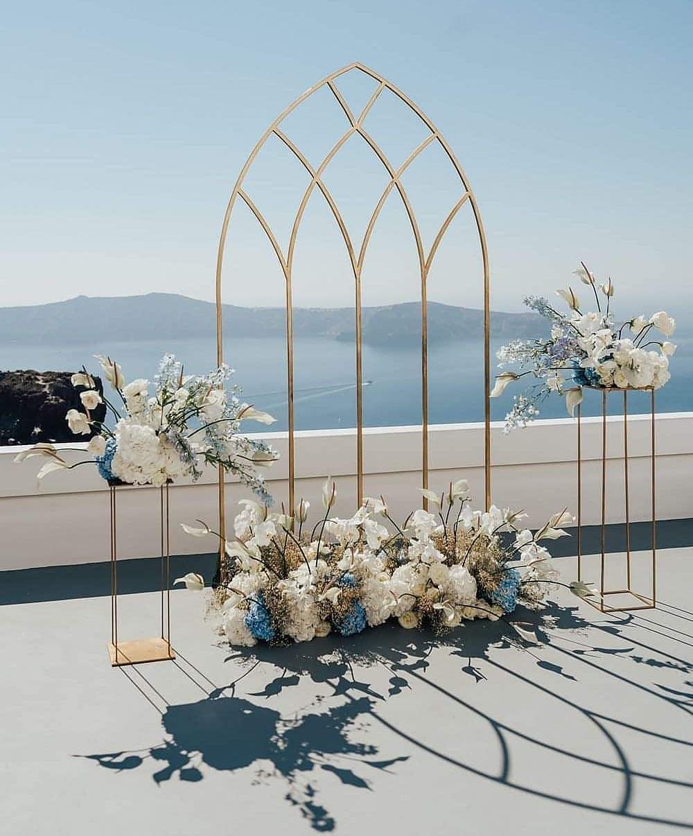 Modern Grecian Archway