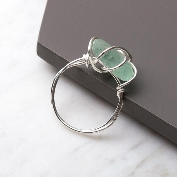 Sea Glass Ring