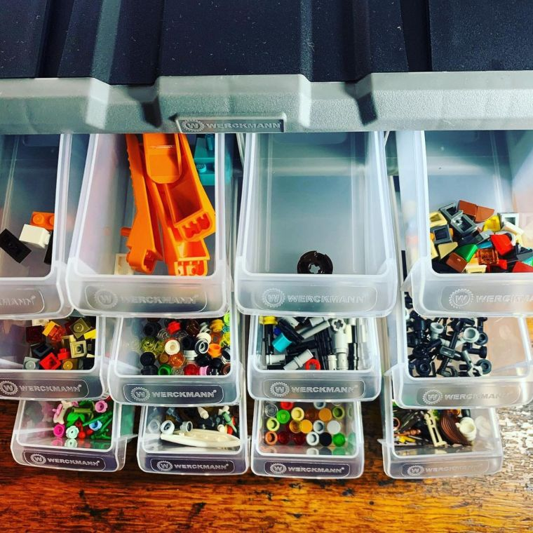 Desktop Drawer Lego Organizer