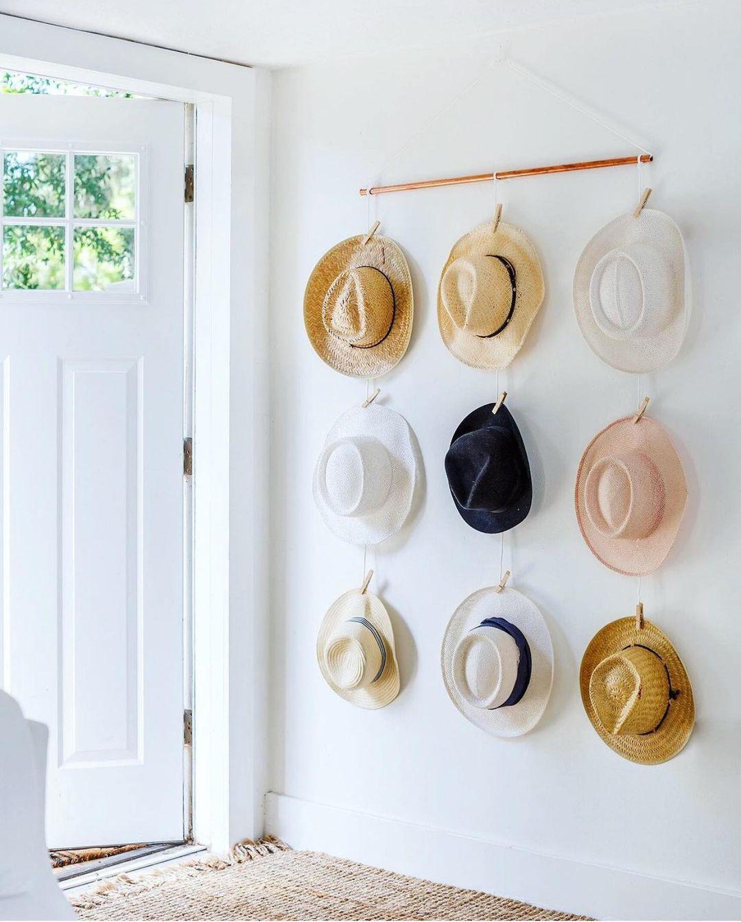 Wide-Set Hat Wall