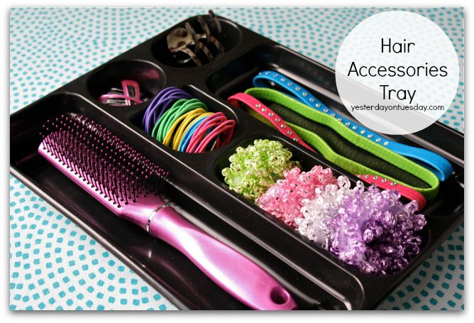 Hair Accessories Tray