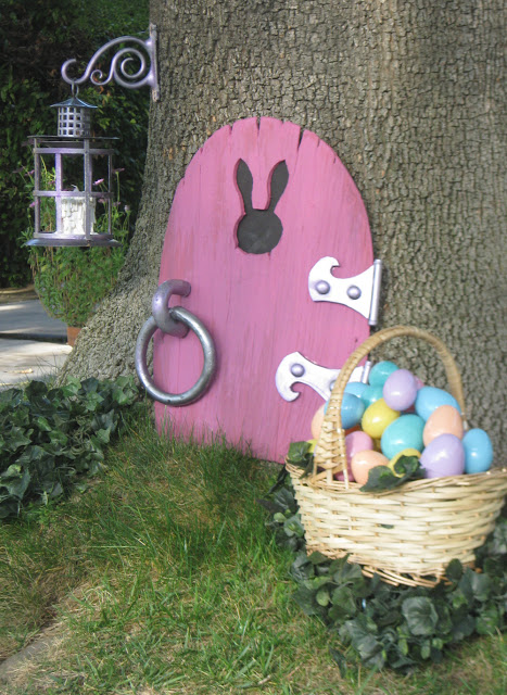 Easter Bunny Tree Home