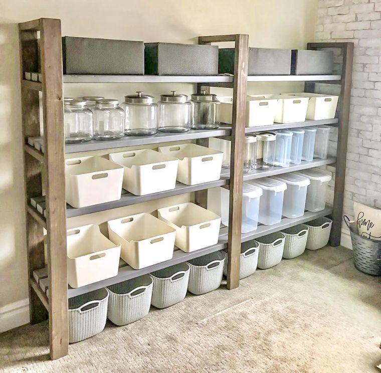 Rustic Farmhouse Chic Storage