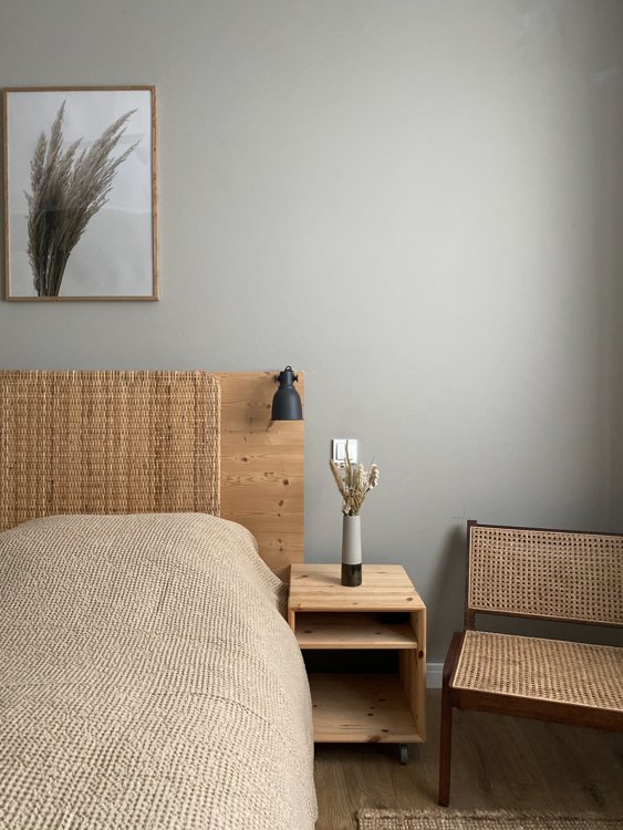 Malm with Wicker