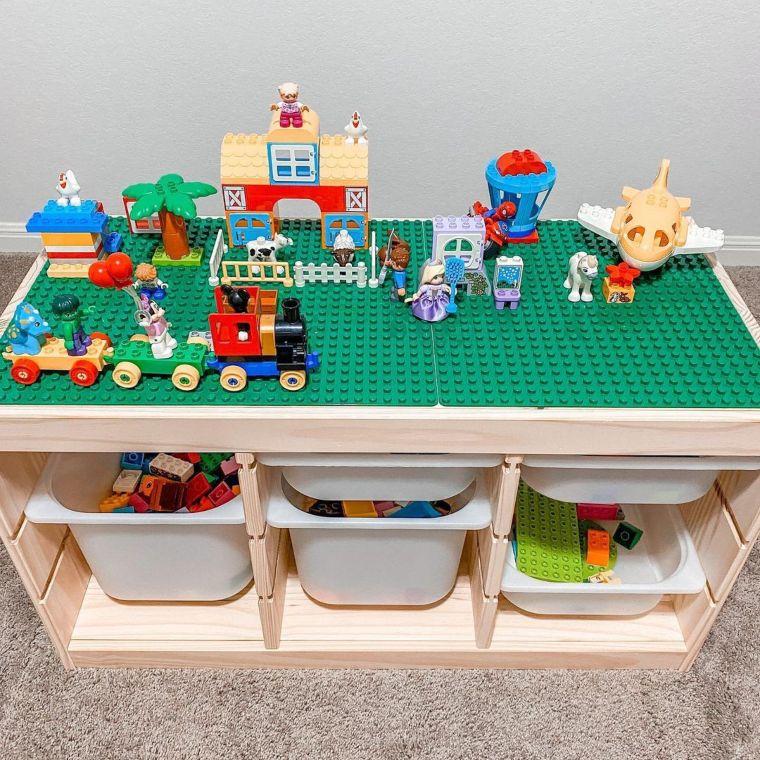 Customized Lego Table