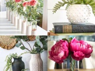 dollar tree vase diys