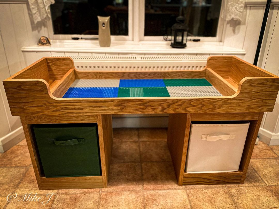 Elevated Lego Table