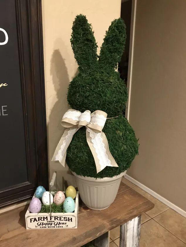 Bunny Rabbit Topiary