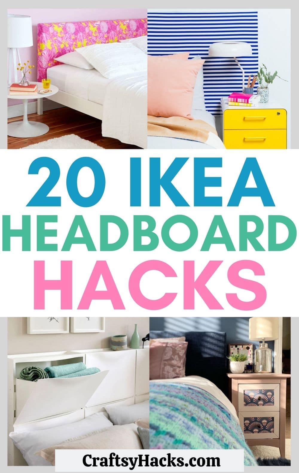 IKEA headboard hacks