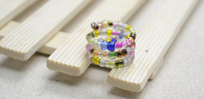 Multi-Strand Bead Ring