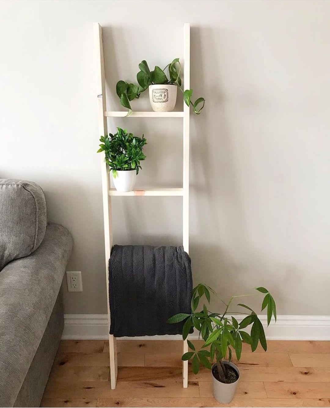 Plant & Blanket Ladder