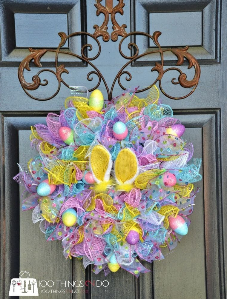 Easter Explosion Wreath