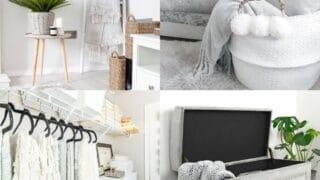 blanket storage ideas